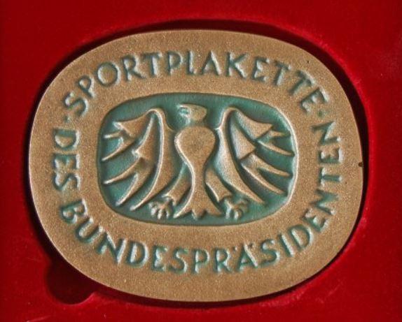 Sportplakette des Bundespräsidenten